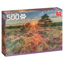 Heather at sunset, Pussel 500 bitar, Jumbo