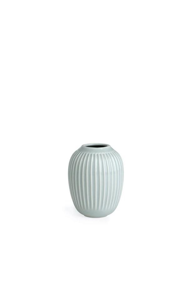 Vase, Hammershöi, H 10 cm, Mint, Kähler