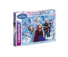 Disney, Frozen pussel, 104 bitar Glitter, Clementoni