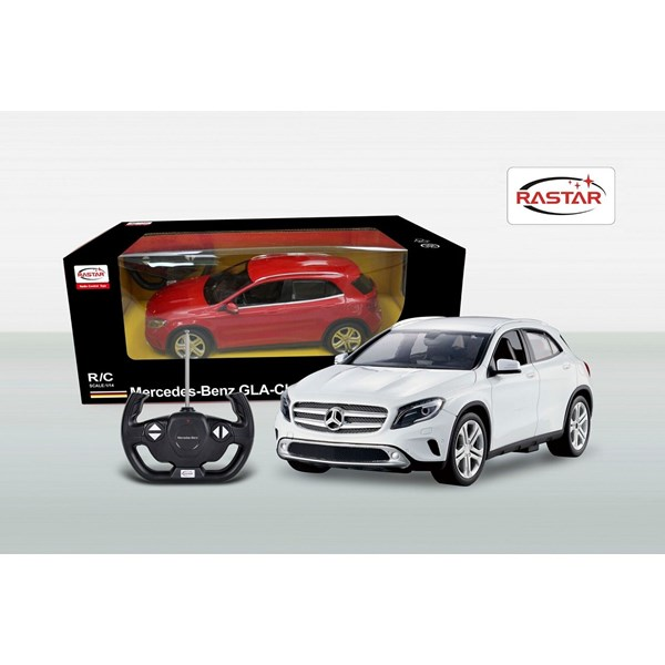 Radiostyrd  Mercedes GL  Vit  Rastar - interaktiva leksaker