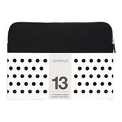 "13"" NEOPRENE 19TWENTY8 SLEEVE BLACK"