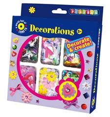 Hobbysett, dekorasjoner