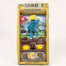 StikBot Action pack, Hair styling, Blå