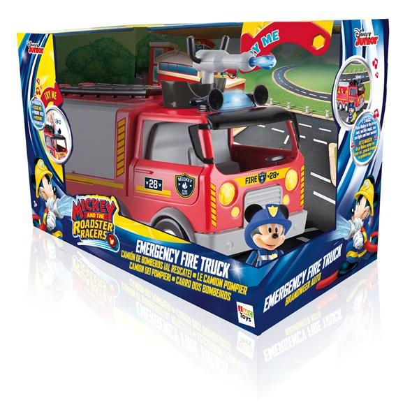 Minifigur med branbil  Musse Pigg  Mickey & The Roadster Racers  Musse & Mimmi Pigg
