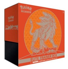 Sun & Moon Elite Trainer Box, Solgaleo, Pokémon
