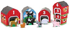 Nesting & Sorting Barns & Animals, Melissa & Doug