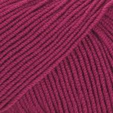 Drops Baby Merino Uni Colour Garn Ullgarn 50g Plum 41