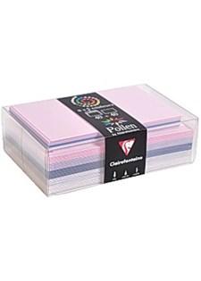 Kirjekuori C6 + kortti pastellivärit (40 kpl)