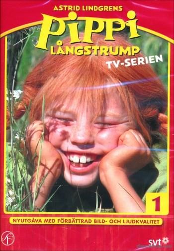 Pippi Långstrump - Tv-serien 1 (flyttar in i Villa Villekulla är sakletare och går på kalas går i af  Nordisk Film