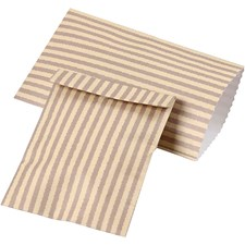 Paperipussi, kork. 10,5 cm, lev. 6 cm, 20 kpl
