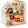 DIY Miniatyrrum, H: 18,7 cm, B: 19 cm, 1 st.