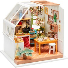 DIY minihuone keittiö, kork. 18,7 cm, lev. 19 cm, 1 kpl