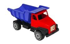 Suuri kuorma-auto punainen 60 cm, Plasto