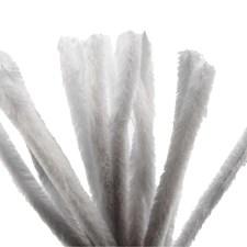 Piprensare, tjocklek 15 mm, L: 30 cm, 15 st., vit