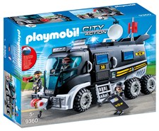 Insatsfordon med ljus och ljud, Playmobil City Action (9360)