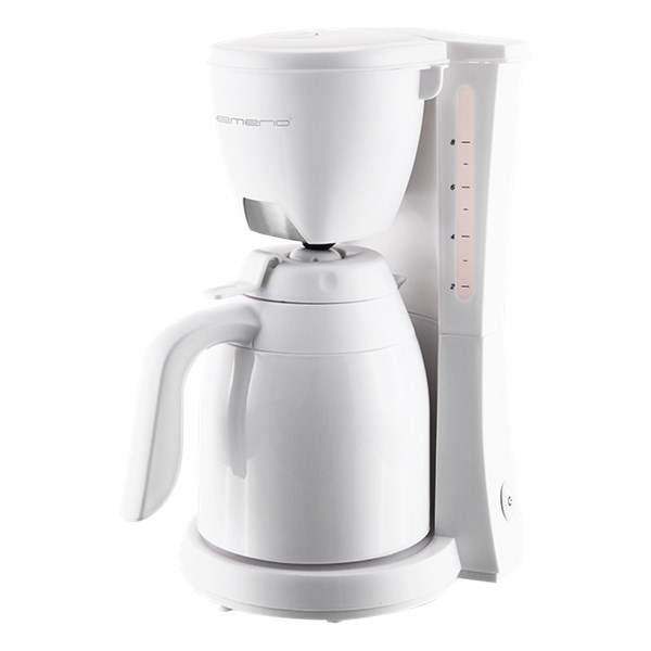 Emerio Termosbryggare Vit (hvit) - kaffe & teberödning