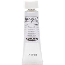 Akrylfärg Schmincke AKADEMIE® 60 ml titanium white (111)