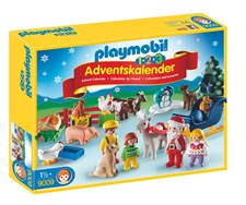 Adventskalender, Jul på bondegården, Playmobil (9009)