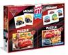 2 Palapeliä, Memory & Domino, Cars 3, Disney Pixar