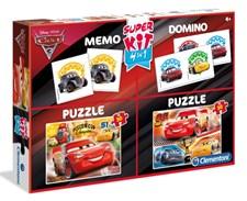 2 Pussel, Memory & Domino, Cars 3, Disney Pixar
