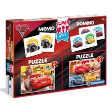 2 Puslespill, Memory og Domino, Biler 3, Disney Pixar