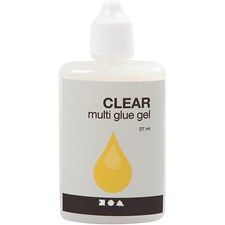 Clear Multi glue gel