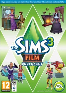 The Sims 3 - Film (Movie Stuff)(Prylpaket)
