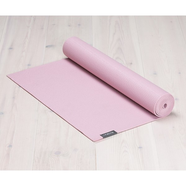 Yogamatta Yogiraj, 6mm, Heather Pink