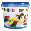 Bucket 122 Pieces - 8 In 1, Clics