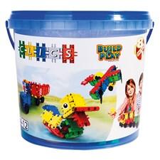 Bucket 122 Pieces - 8 In 1, Clics