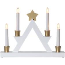 Star Trading Ljusstake Julle Vit