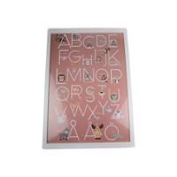 Form Living Tavla Alfabet 50x70 cm Aprikos