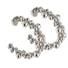 Ioaku Berry Mini Loops Alloy Silver