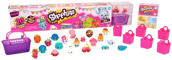 Mega Pack, 20 figurer, Sesong 4, Shopkins