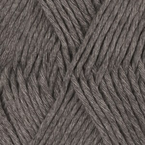 Drops, Cotton Light Uni Colour, Garn, Bomullmiks, 50 g, Mørk grå 30