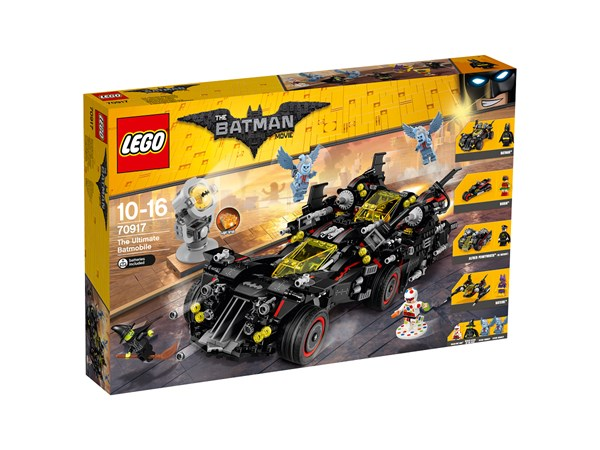 The Ultimate Batmobile , LEGO Batman Movie (70917)