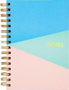 Notatbok Burde A5 Tre Farger