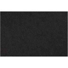 Askarteluhuopa, arkki 42x60 cm, paksuus 3 mm, 1 arkki, musta