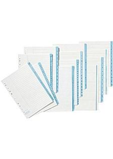 Papirregister A4 1-10 (10)