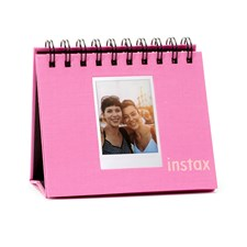 INSTAX MINI TWIN FLIP ALBUM FLAMINGO PINK