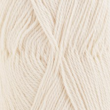 Drops BABYALPACA SILK 0100 off white