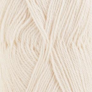 Drops Babyalpaca Silk Garn Silkesmix 50g Natur (0100)