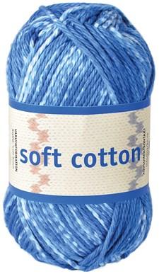 Soft Cotton Bomullsgarn 50g  Ljus Denimblå (8883)