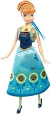 Anna, Frozen Fever- nukke, Disney Princess