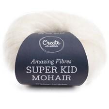 Adlibris, Super Kid Mohair, 25 g, Pearl White A568