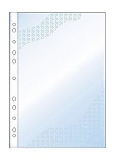 Plastfickor Präglad A4 0,08 mm 100 st