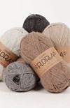 Drops Flora Uni Colour Garn Ullmix 50g