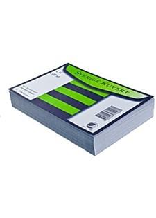 Kirjekuori myyntipakk. Sv C6 valkoinen (50 kpl)