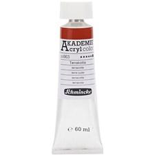 Schmincke AKADEMIE® Akrylmaling, 60 ml, terracotta (663)