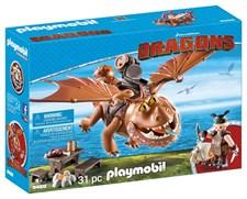 Fiskfot och Tjockvald, Playmobil Dragons (9460)